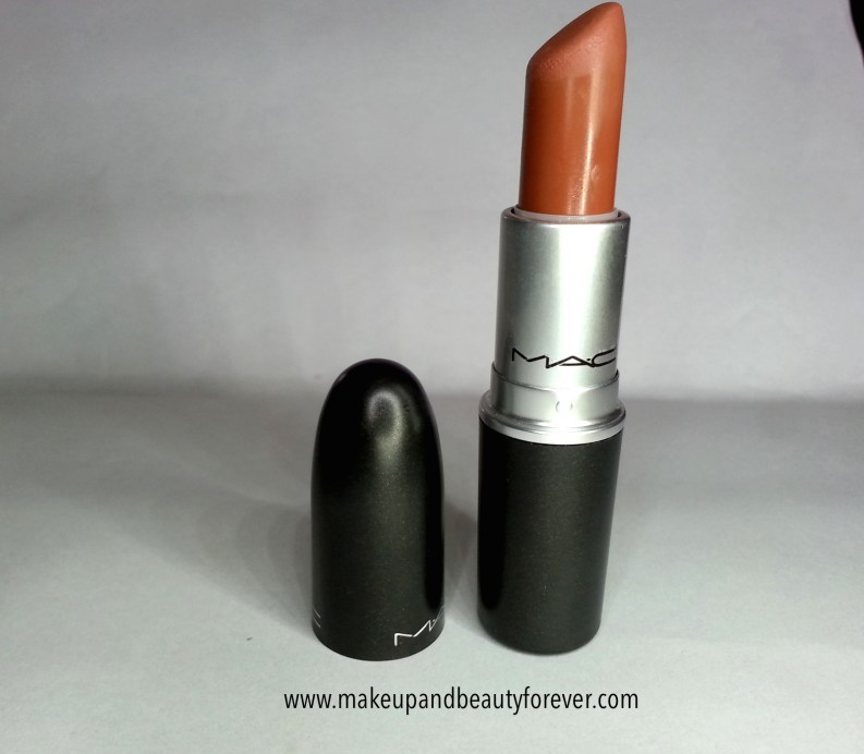 MAC Matte Lipstick Taupe Review, Swatches and LOTD 6