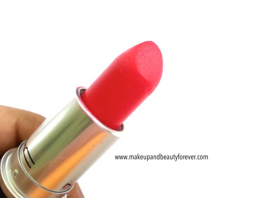 MAC Relentlessly Red Retro Matte Lipstick Review Swatches LOTD