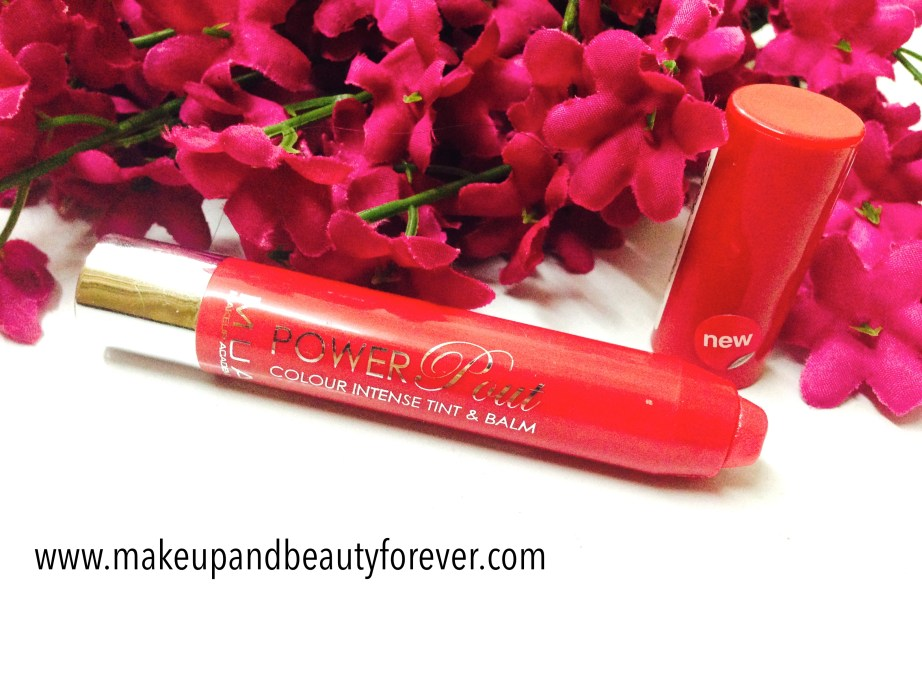 MUA Power Pout Colour Intense Tint and Balm Broken Hearted Review india
