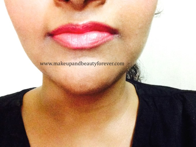Maybelline ColorShow Lipstick Crushed Candy 103 Review, Swatch, Price, FOTD india