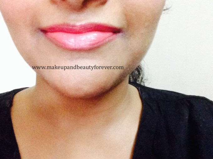 Maybelline ColorShow Lipstick Crushed Candy 103 Review, Swatch, Price, FOTD lip swatch
