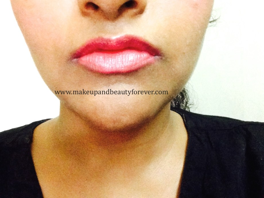 Maybelline ColorShow Lipstick Crushed Candy 103 Review, Swatch, Price, FOTD lips