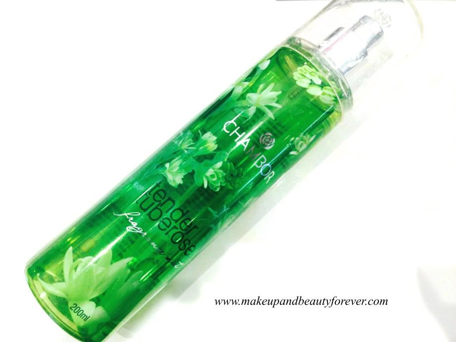 Chambor Geneva Tender Tuberose Fragrance Mist Review