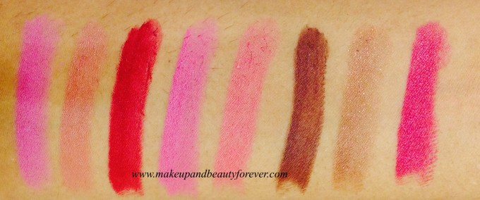 Coloressence Lipstick Lip Color Review, Shades, Swatches, Price Details