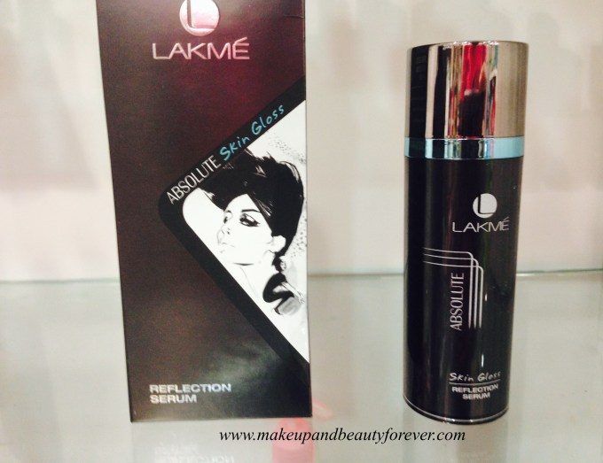 Lakme Absolute Skin Gloss Refection Serum Review, Price, Swatch