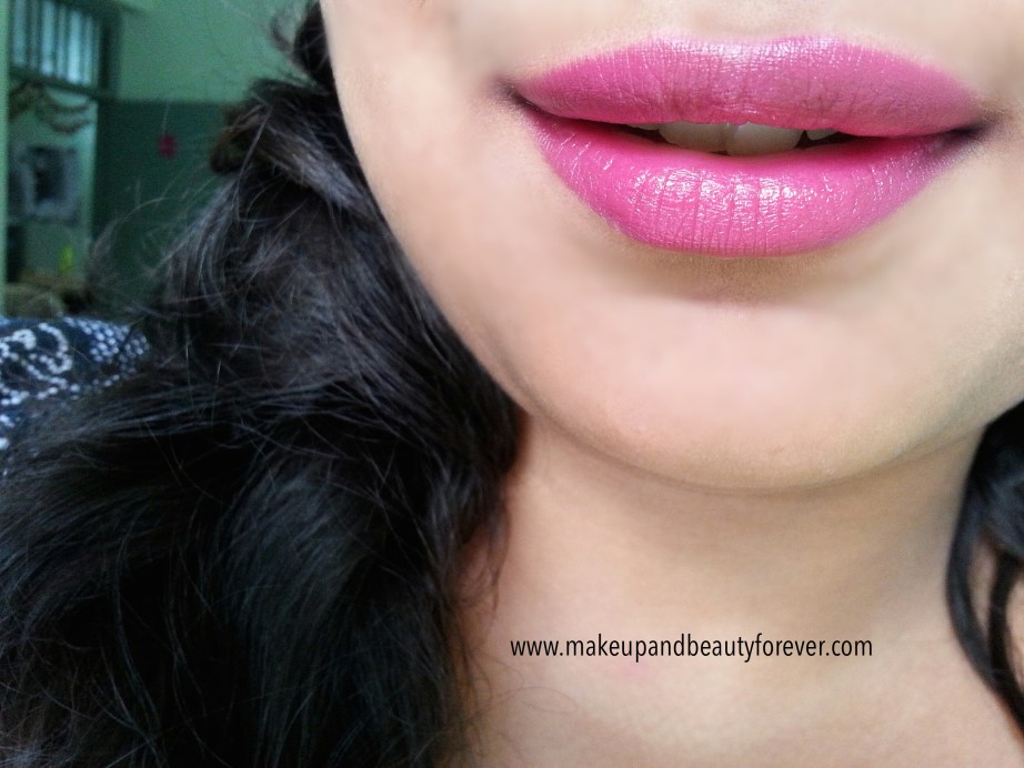 MAC Girl About Town Lipstick Review, Swatch, LOTD India MBF