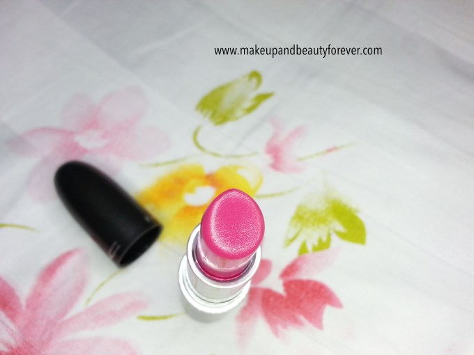 MAC Girl About Town Lipstick Review, Swatch, LOTD india