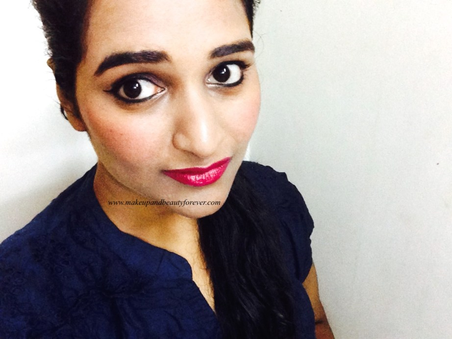 Maybelline ColorShow Lipstick Midnight Pink 111 Review, Swatch, Price, FOTD Astha MBF India
