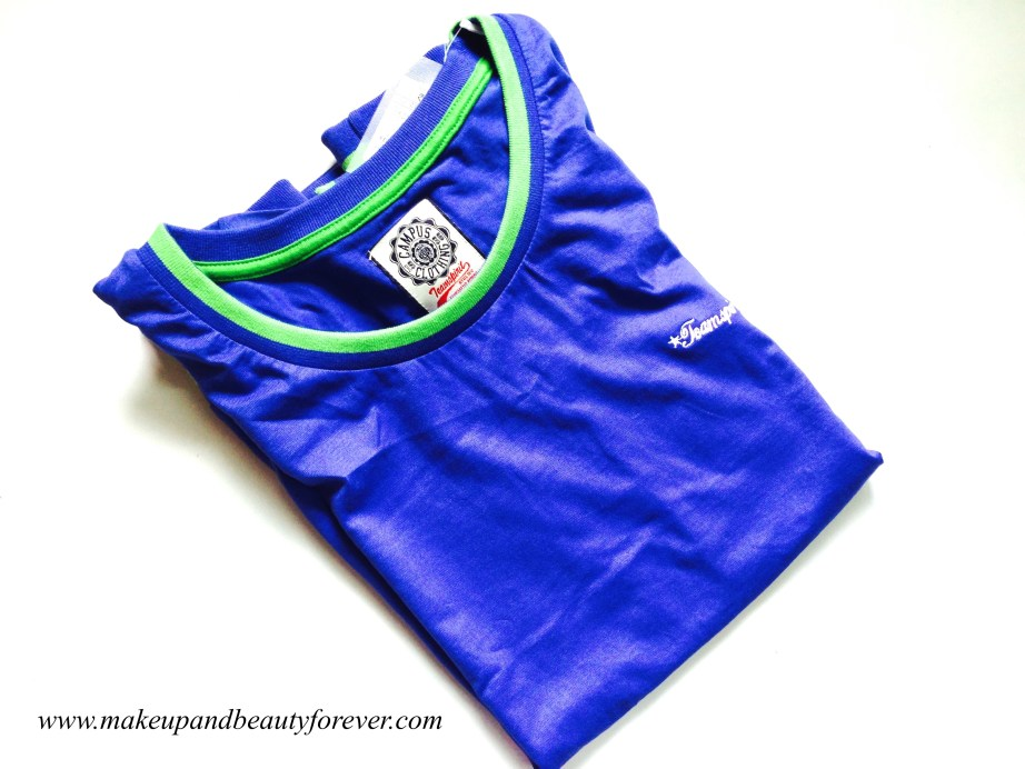 Blue sports top MBF