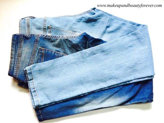 Light Blue and Dark Blue Jeans MBF