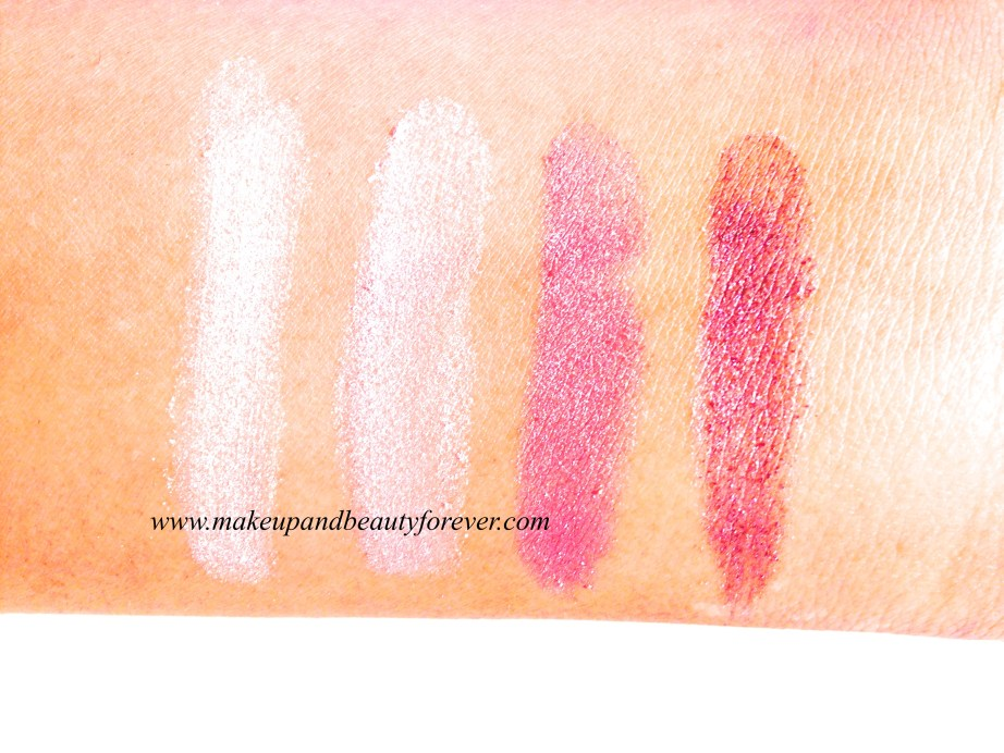 Maybelline Diamond Glow Eye Shadow by Eyestudio Review, Shades, Swatches, Price and Details pink