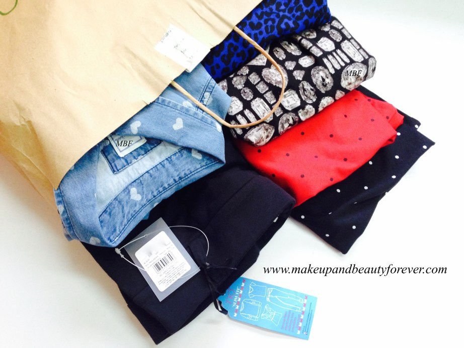 Sunday Shopping Casual Clothing Haul by Astha MBF