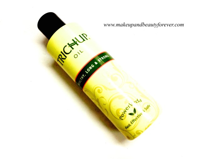 Trichup Healthy Long and Strong Hair Oil Review