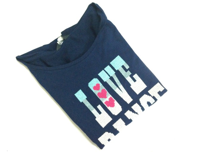 Casual blue top Love and Dance