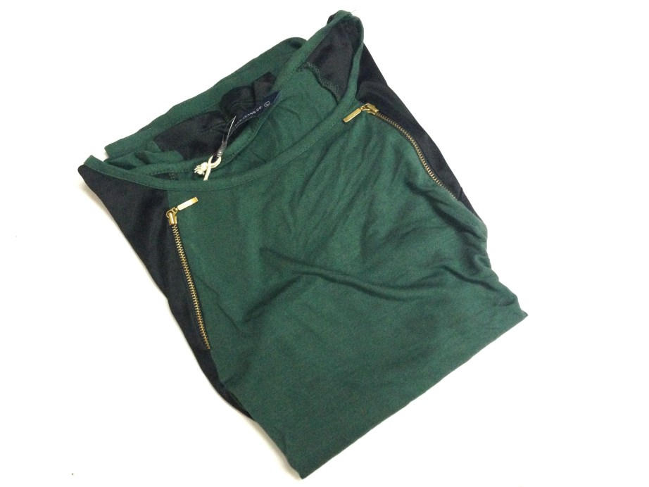 Green and Black designer top