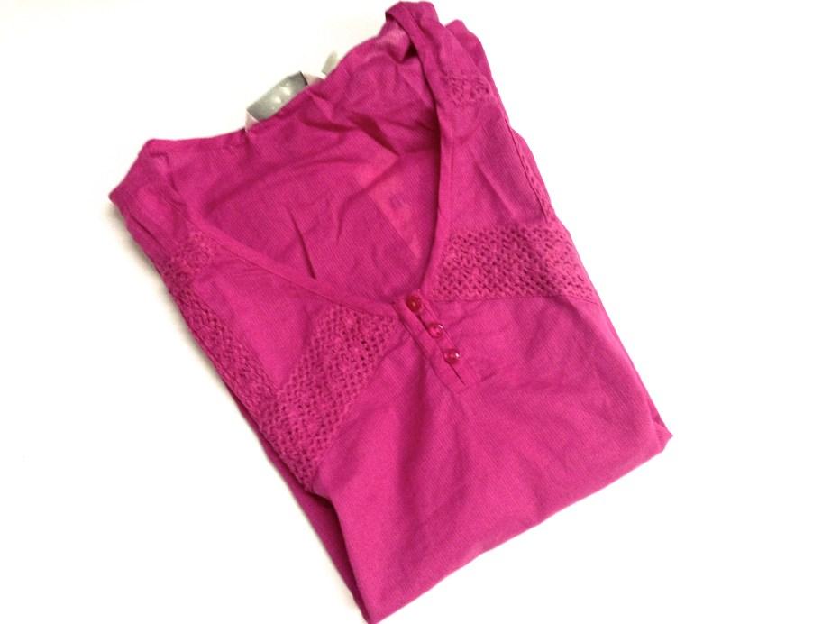 Pink Kurti top