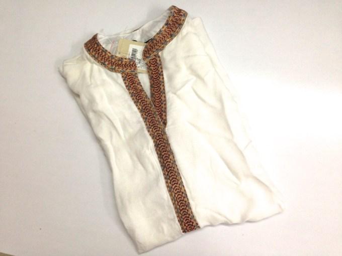 White kurta top