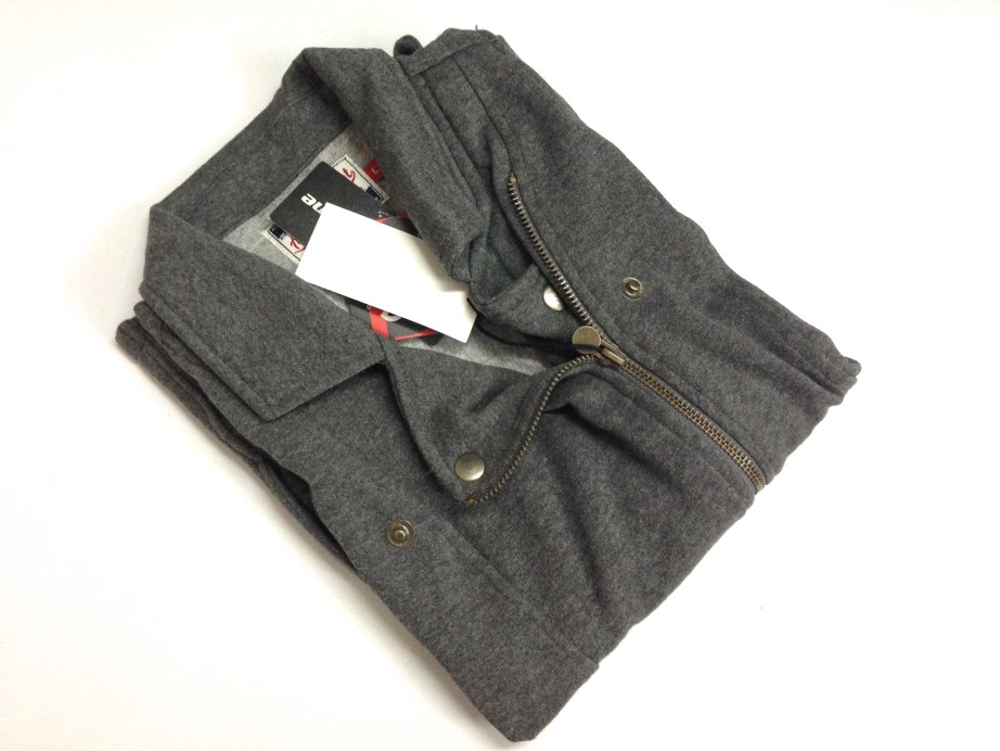 gray designer woollen jacket