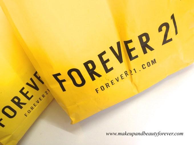 Forever 21 Haul India