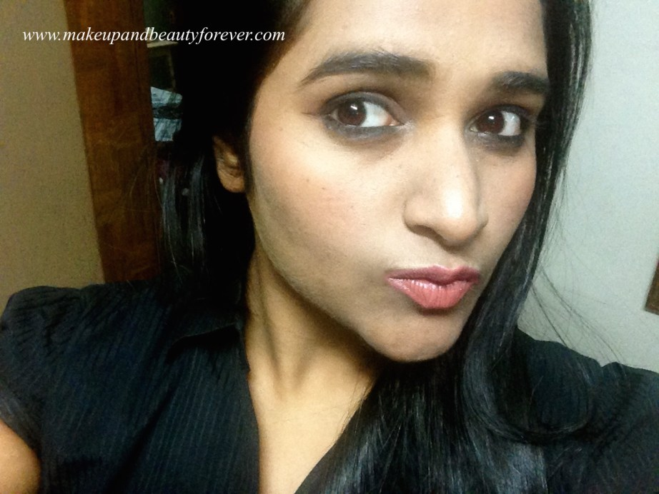 Colorbar Velvet Matte Lipstick 58 BR Bare Review Astha MBF India
