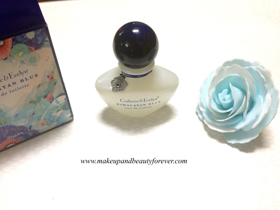 Crabtree & Evelyn Himalayan Blue Eau De Toilette EDT India Review
