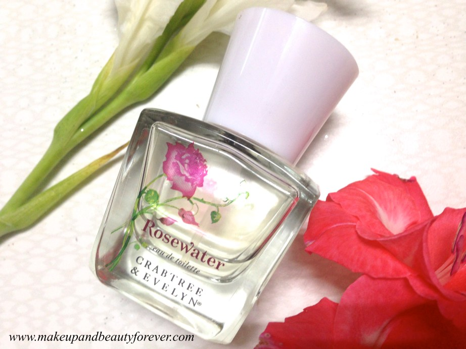 Crabtree & Evelyn Rosewater Eau de Toilette Perfume Review 4