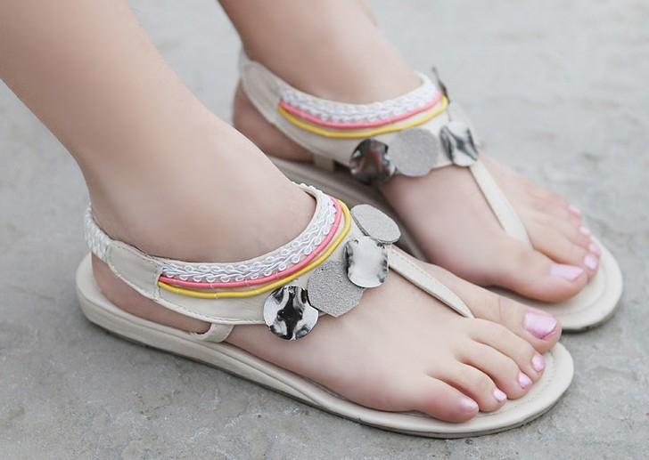 Cute flat sandals india
