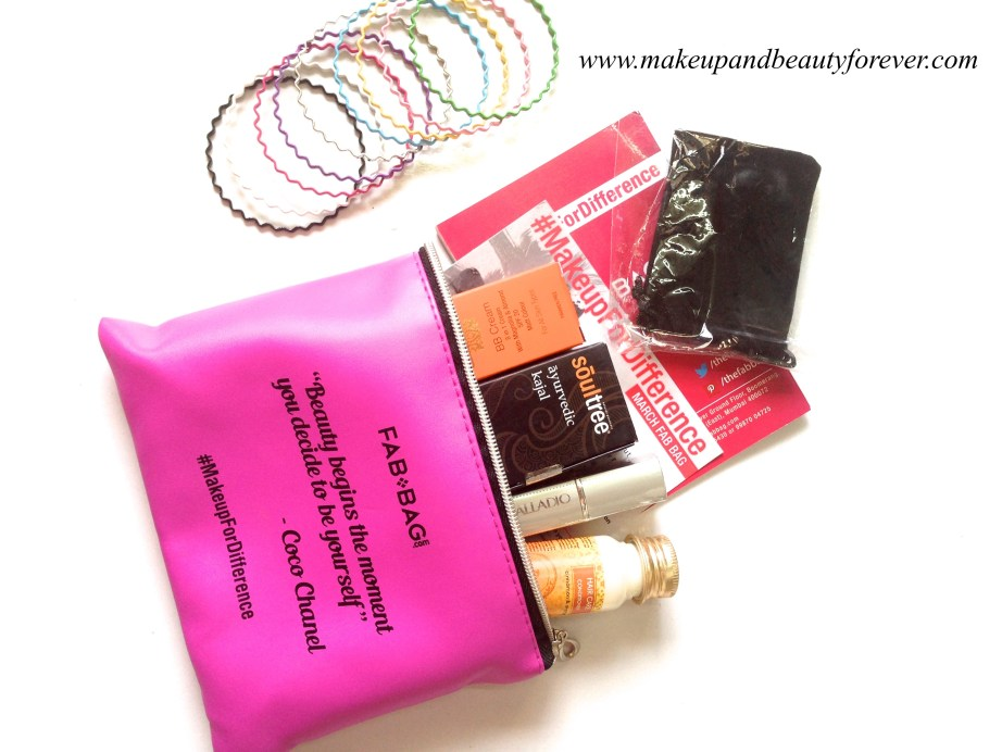 Fab Bag March 2015 products