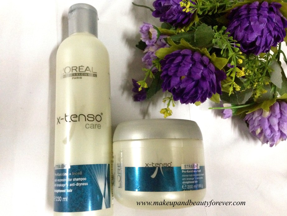L'Oreal Professionnel X-Tenso Care Nutri-Reconstructor Shampoo and Hair Masque Review