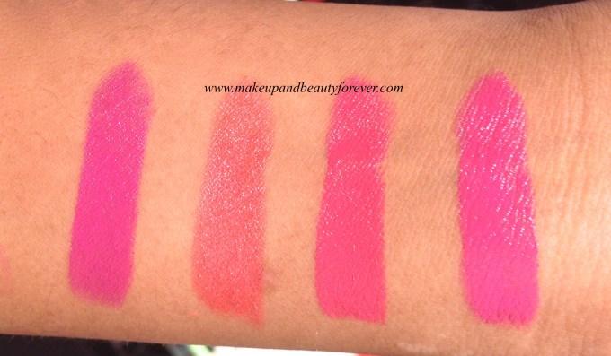 New Lakme Enrich Satin Lipstick P 163 P 164  P 165 P 166