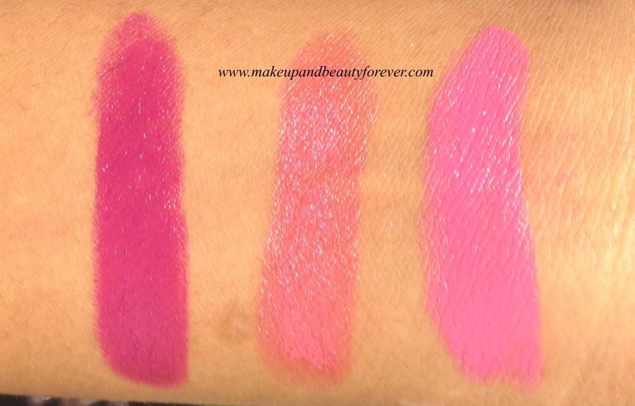 New Lakme Enrich Satin Lipstick P 167  New Lakme Enrich Satin Lipstick P 168  New Lakme Enrich Satin Lipstick P 169