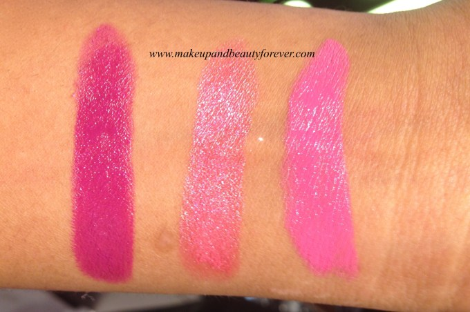 New Lakme Enrich Satin Lipstick P 167  P 168  P 169