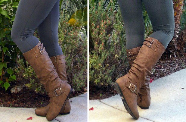 Tall buckle boots india