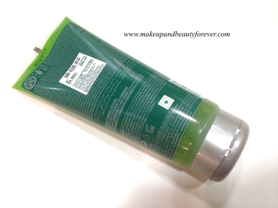 The Body Shop Glazed Apple Body Polish Review India