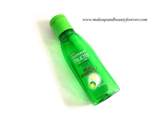 Garnier Fructis Silky Straight 24:7 Smoothing Serum Review