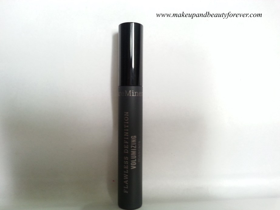 BareMinerals Flawless Definition Volumizing Mascara Review 2