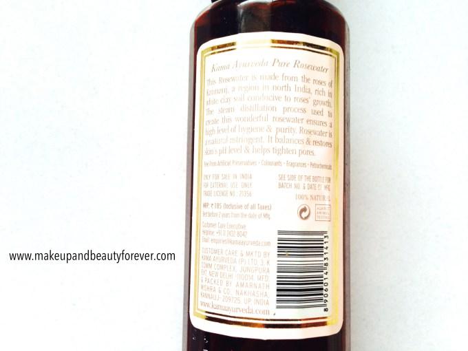 Kama Ayurveda Pure Rosewater Review 8