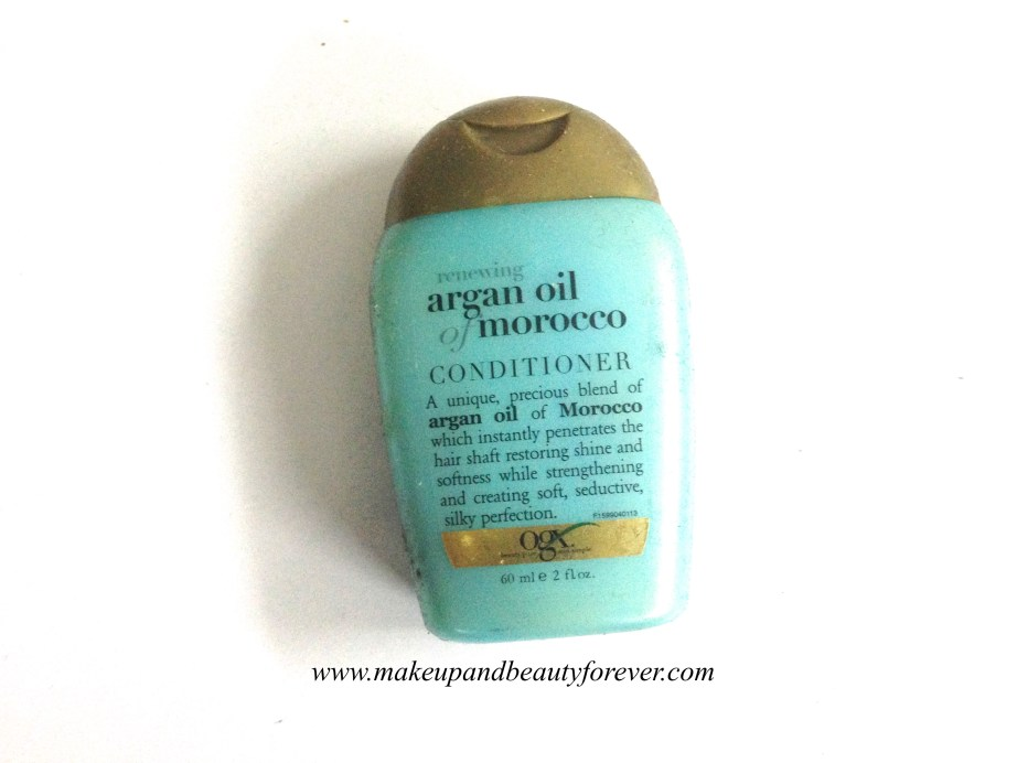 Organix Renewing Moroccan Argan Oil Conditioner Review