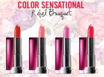All Maybelline Color Sensational Rebel Bouquet Lipstick Review, Shades, Swatches, Price and Details