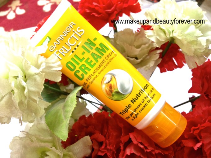 Garnier Fructis Triple Nutrition Oil-In-Cream Review 4