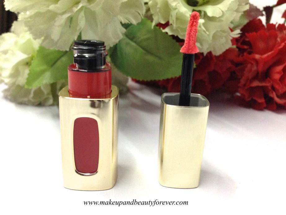 L'Oreal Paris Colour Riche Extraordinaire Liquid Lipstick 202 Coral Encore Cannes makeup 2015