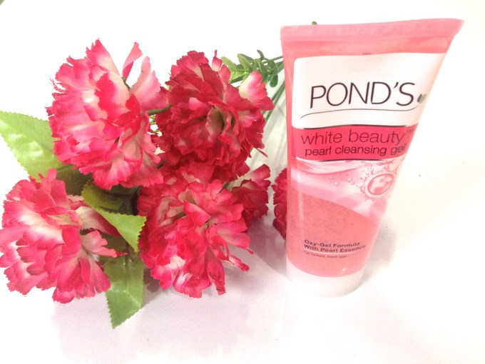 Ponds White Beauty Pearl Cleansing Gel Review MBF India