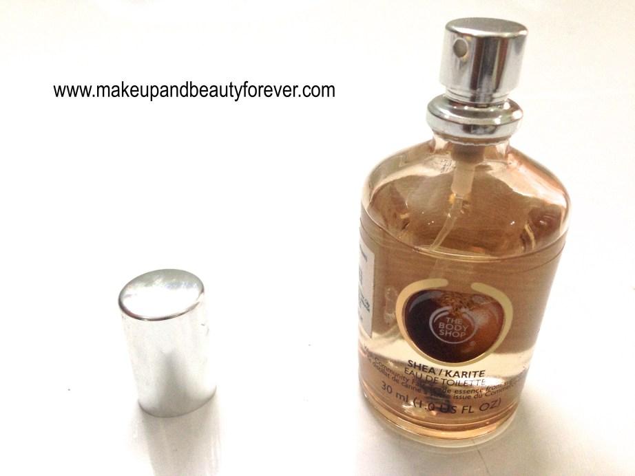 The Body Shop Shea Eau De Toilette Review MBF India