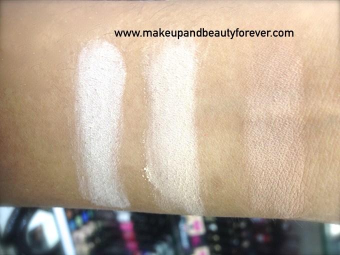 All Revlon Nearly Naked Pressed Powder Review Shades Swatches Price Details Fair Medium Medium Deep 1