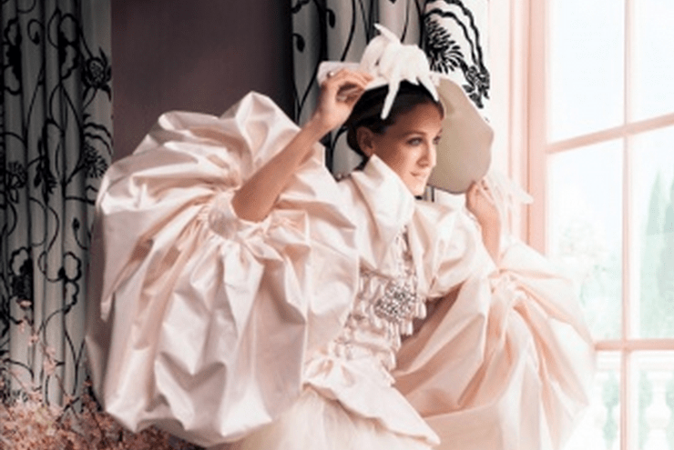 Carrie Bradshaw's Vogue Wedding Dress by Dior