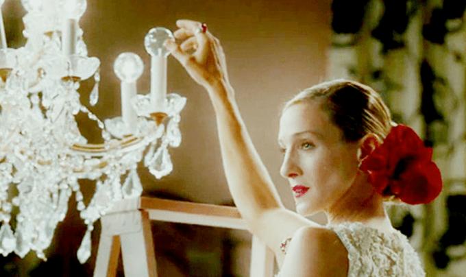 Carrie Bradshaw's Vogue Wedding Dress by Oscar de la Renta
