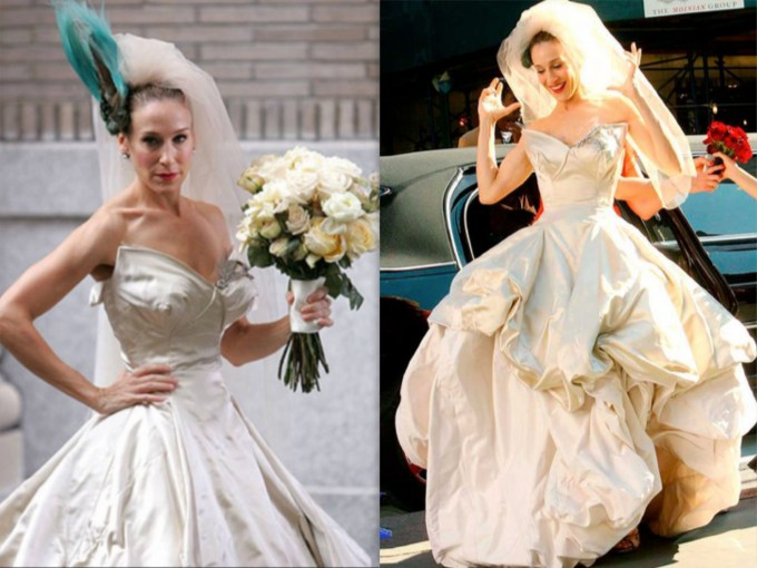Carrie Bradshaw's Wedding Dress by Vivienna Westwood for Vogue