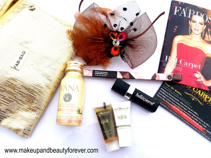 Fab Bag July 2015 Red Carpet Edition review