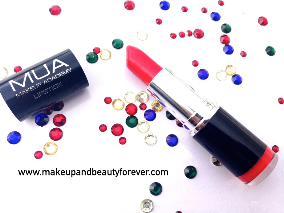 MUA Makeup Academy Lipstick Shade 13 Review 3