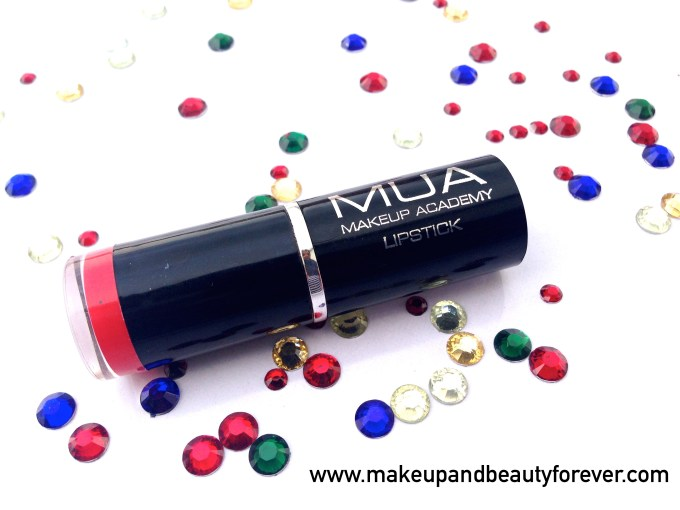 MUA Makeup Academy Lipstick Shade 13 Review 4